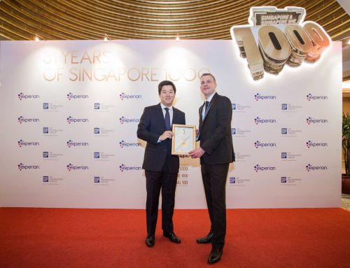 ฮั่วเซ่งเฮงสิงคโปร์ติดอันดับ5  ในงานประกาศผลรางวัล S1000 SME1000 SI100 ครั้งที่ 31