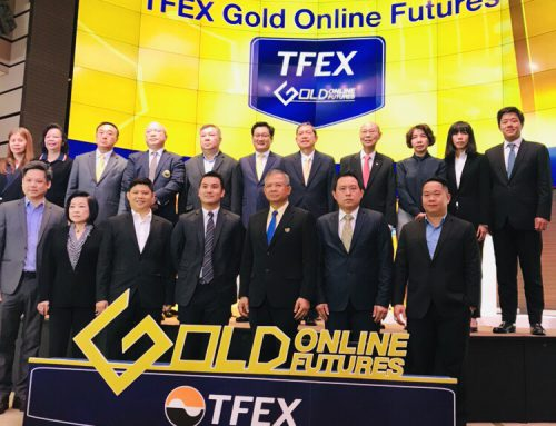 กลุ่มฮั่วเซ่งเฮงเข้าร่วมพิธีเปิดการซื้อขาย TFEX Gold Online Futures